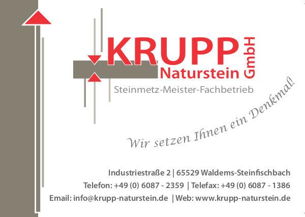 KRUPP Naturstein Steinfischbach
