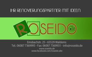 roseido - Ihr Renovierungspartner mit Ideen